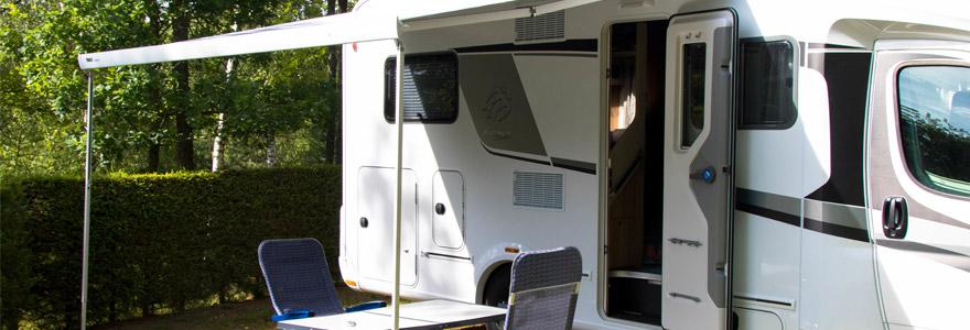 louant un mobile home