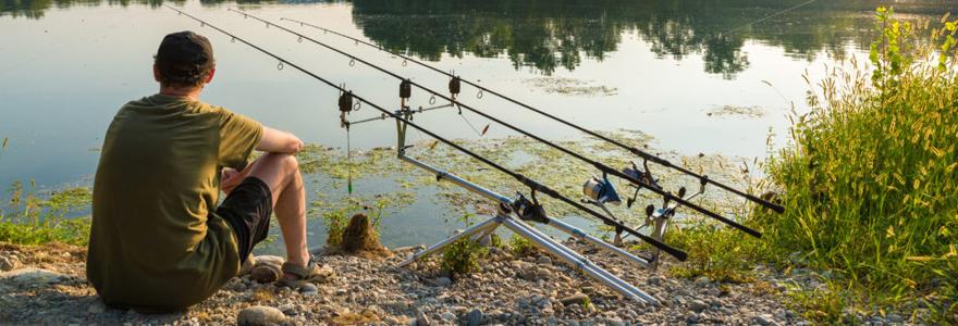 Pratiquer la pêche à la carpe
