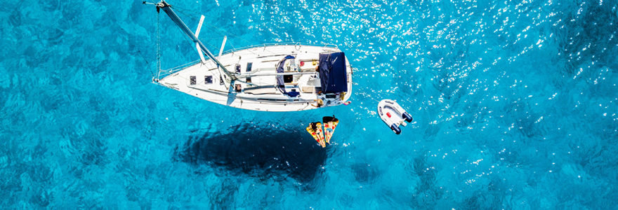 Partir en vacances en voilier